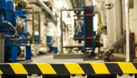 Schwermaschinen-Raum - Hintergrund - defocused Stockfotos