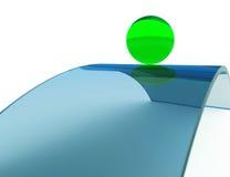 Schwerpunkt-und Potenzialität-Bewegung vektor abbildung