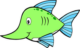 Schwertfisch-Vektor stock abbildung