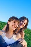 Schwester-Liebe Lizenzfreie Stockbilder