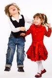 Schwester und Bruder Lizenzfreie Stockfotos