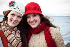 Schwestern Stockfotos