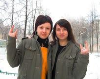 Schwestern lizenzfreies stockbild