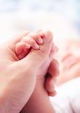 Schwestern, die Hände anhalten Lizenzfreies Stockbild