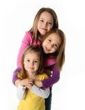 Schwestern, die Spaß haben Stockfoto