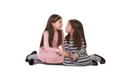 2 Schwestern oder Freunde Stockfoto