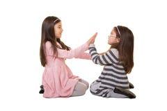 2 Schwestern oder Freunde Lizenzfreies Stockbild
