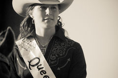 Schwestern, Oregon-Rodeo-Königin Emily Clark Stockfotos