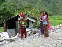 Schwestern in Tharanche - Nepal Lizenzfreie Stockfotografie