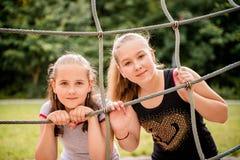 Schwesterporträt lizenzfreie stockfotos