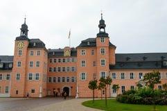 schwetzingen της Γερμανίας κάστρων Στοκ εικόνα με δικαίωμα ελεύθερης χρήσης