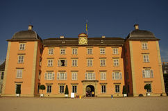 Schwetzingen Castle, Heidelberg, Germany. Main building in Schwetzingen Castle, near Heidelberg, Germany Stock Photos