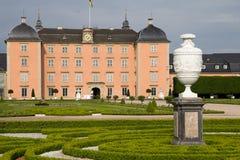 Schwetzingen kasztel w Mannheim, Niemcy zdjęcie royalty free