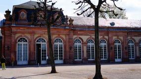 Schwetzingen pałac blisko Heidelberg zdjęcia stock