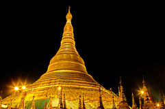 Schwezigon Pagoda- Bagan, Burma (Myanmar) Royalty Free Stock Photos