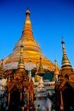 Schwezigon Pagode Bagan, Birma (Myanmar) Stockbilder