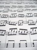 Schwierige Musik Stockbild