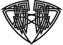 Schwieriger keltischer Knoten Stockbild