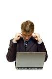 Schwieriges zu lösen Problem Lizenzfreies Stockfoto