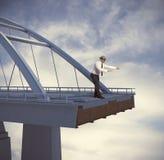 Schwierigkeit und Probleme im Geschäft Lizenzfreie Stockfotografie