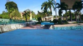 Schwimmbäder Stockbild