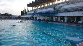 Schwimmbäder Stockfotografie