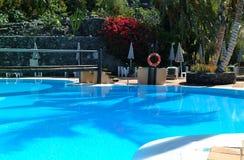 Schwimmbad Stockbild