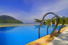 Schwimmbad-KOH-Phi-Phi Lizenzfreies Stockbild