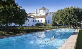 Schwimmbad von Monasterio De San Francisco Lizenzfreie Stockbilder