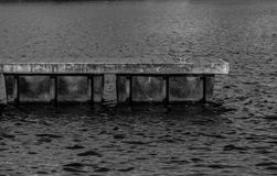 Schwimmdock-Porträt Stockfoto
