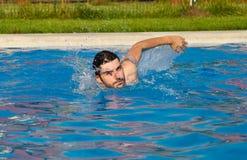 Schwimmen lizenzfreie stockbilder