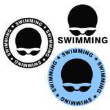 Schwimmen vektor abbildung