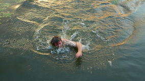 schwimmen Stockbild