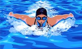 Schwimmen Stockfoto