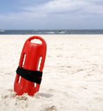 Schwimmen auf eigene Gefahr lizenzfreies stockfoto