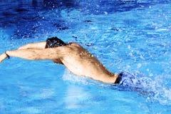 Schwimmen für Spaß Stockbilder