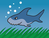 Schwimmen-Haifisch lizenzfreie abbildung