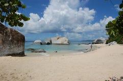 Schwimmen im Paradies Lizenzfreie Stockbilder