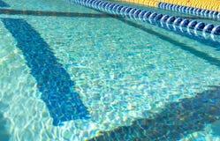 Schwimmen-Weg-Markierung Lizenzfreies Stockbild