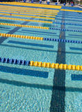 Schwimmen-Weg-Markierung Stockfotografie