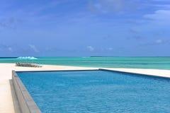 Schwimmende Malediven Stockbilder