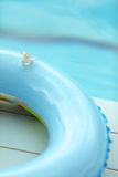 Schwimmendes Floss Lizenzfreie Stockbilder