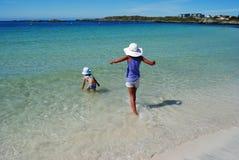 Schwimmenkinder Lizenzfreie Stockfotografie