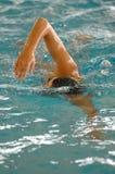Schwimmenkonkurrenz Lizenzfreie Stockfotografie