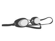 Schwimmenschutzbrillen Lizenzfreies Stockbild