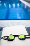 Bereiten Sie für ein Schwimmen vor Lizenzfreies Stockfoto