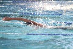 Schwimmer Stockbild
