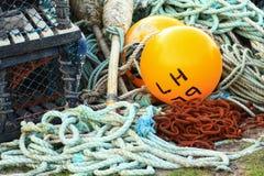 Schwimmer für die Fischerei. Stockbilder