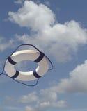 Schwimmweste im mitten in der Luft Lizenzfreie Stockfotos