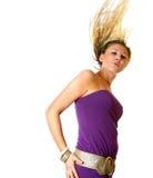 Schwingen blond Lizenzfreie Stockbilder